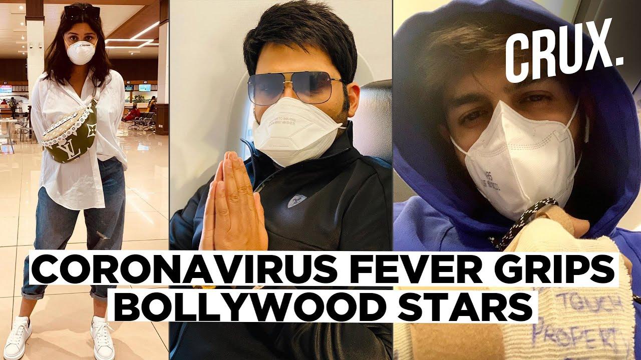 Bollywood stars put their masks to ward off Coronavirus pandemic