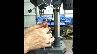 harbor freight drill and my xy vise, How to mount the two items