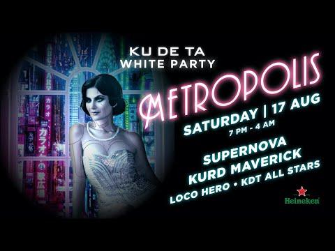 KU DE TA Annual White Party 2019  - METROPOLIS