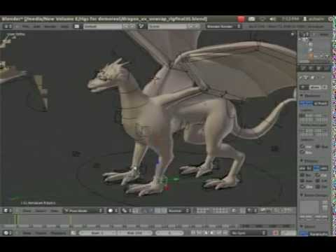 Blender Rigging demo reel.mpg