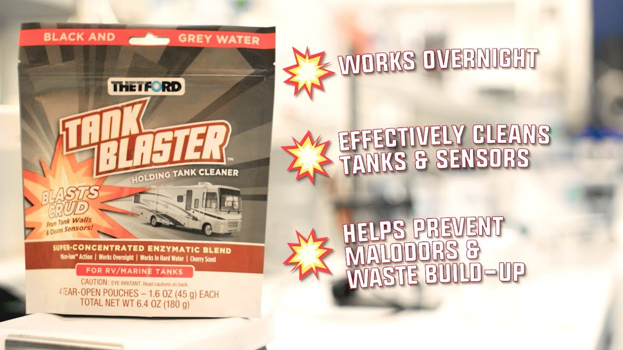 Tank Blaster - RV and marine holding tank cleaner - find out how it works