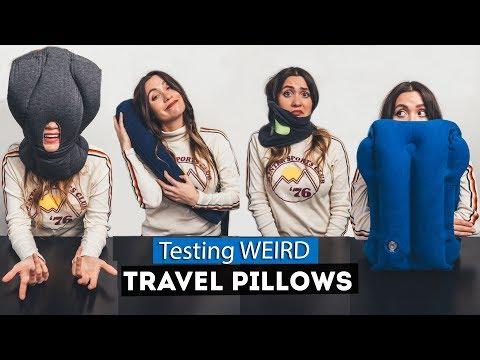 Testing WEIRD Travel PILLOWS