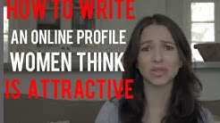 For Guys: How To Write A Good Online Dating Profile