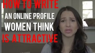 Best ADVICE, TIPS • How to write your online dating profile to attract your ideal partner. Lisa Mohr