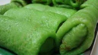 Resep Makanan Enak Cara Membuat Kue Dadar Gulung Isi Unti