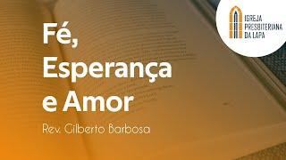 A minha graça te basta - Rev. Gilberto Barbosa