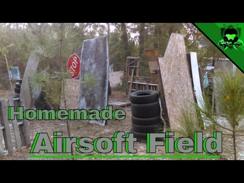 My Homemade Airsoft Field Review - FL