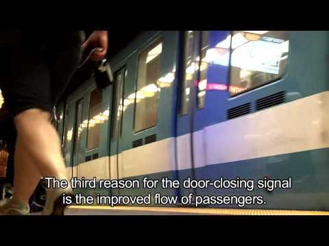 Dou dou dou...the Montréal métro's signature sound