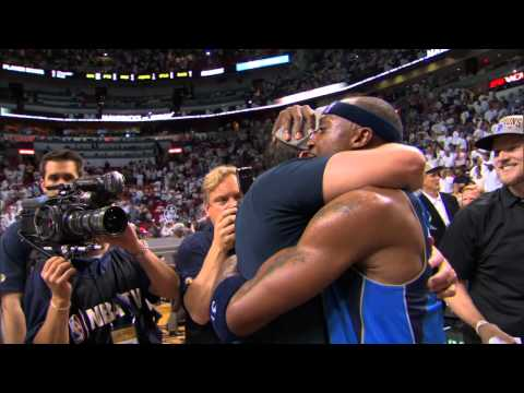 Mark Cuban Celebrates With His Mavs