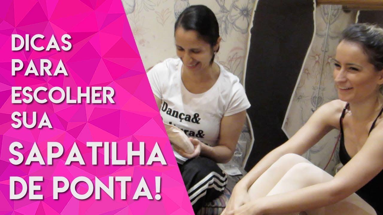 b402b05deb Escolhendo a sapatilha de ponta ideal na Ana Botafogo Boutique - YouTube