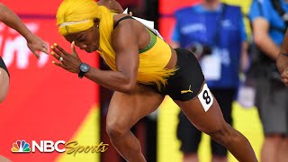 Shelly-Ann Fraser-Pryce destroys field in tone-setting 100m heat | NBC Sports