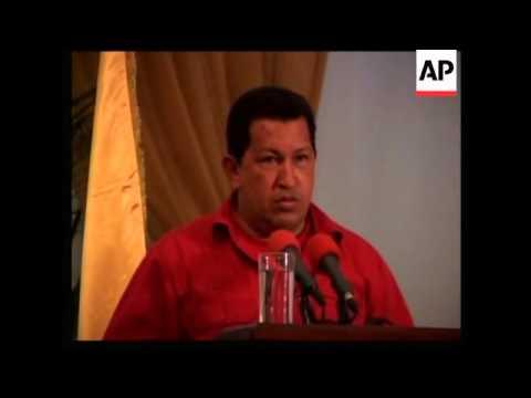 Venezuelan President Lambasts Bush's