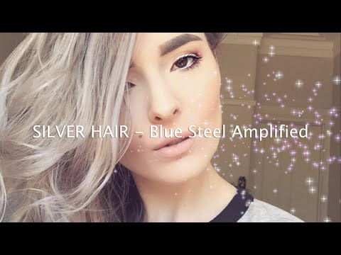 SILVER HAIR | Blue Steel Amplified (Manic Panic)