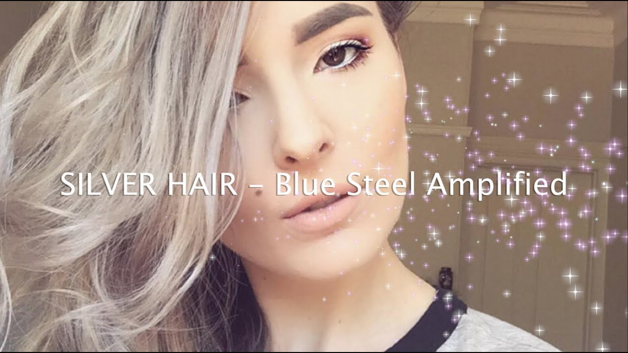 Silver Hair Blue Steel Amplified Manic Panic