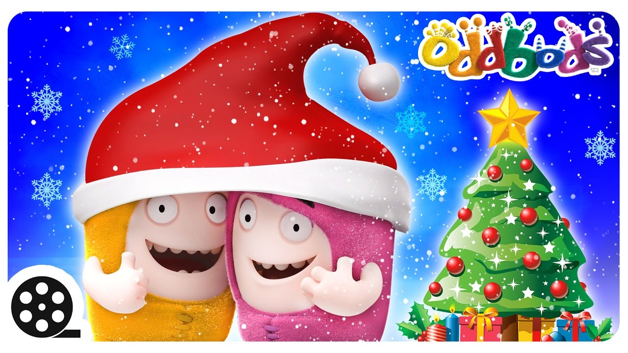 Oddbods | Christmas With Oddbods | Funny Cartoons For Kids