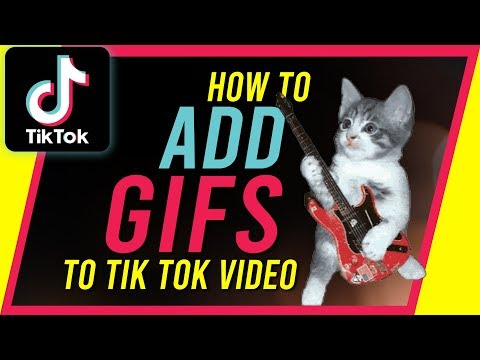 How To Add GIFs On Tik Tok - New Update