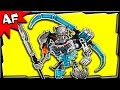 Lego Bionicle Skull Warrior 70791 Stop Motion Build Review