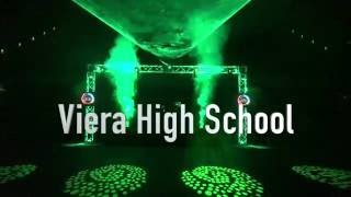 Viera Homecoming Dance 2016 DJ & Laser Show - Forgotten Forest