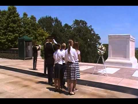 Mountainville Academy Wreath Laying Ceremony