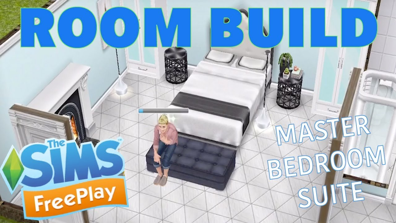 Sims Freeplay | Master Bedroom Suite | Room Build - YouTube