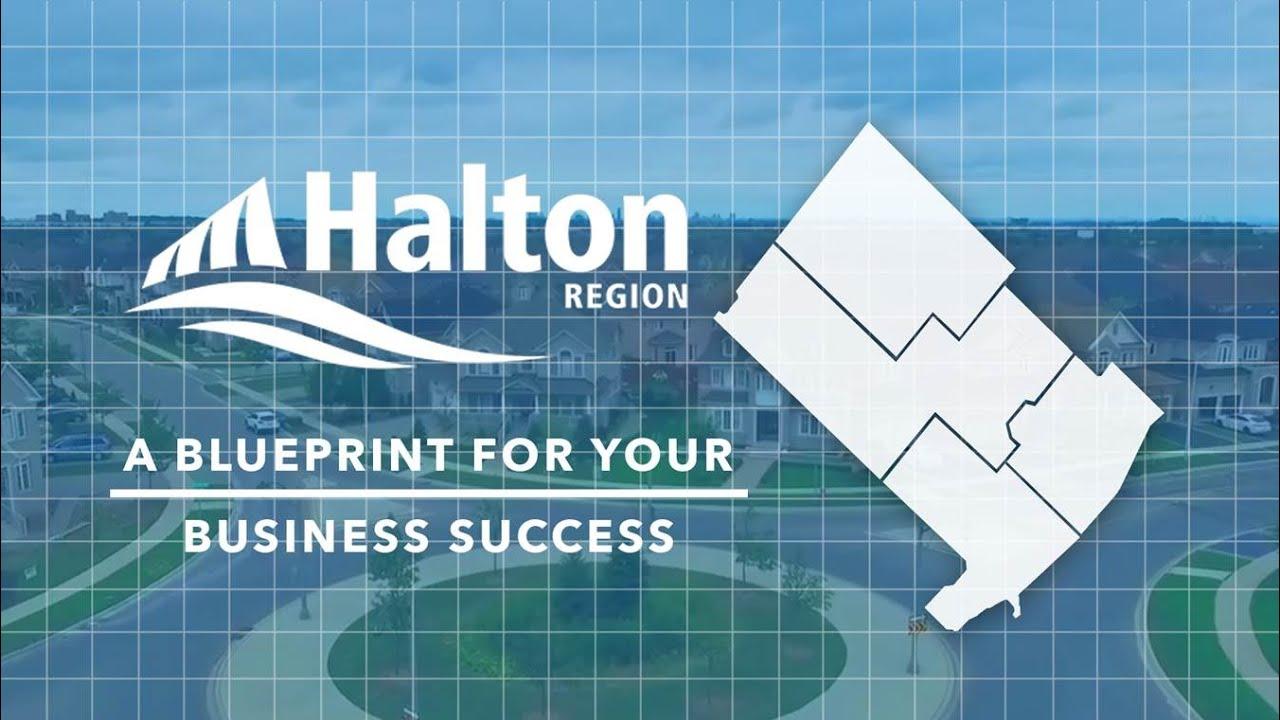 Halton region a blueprint for your business success youtube halton region a blueprint for your business success malvernweather Image collections
