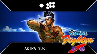 Virtua Fighter PC/Remix: Akira Playthrough