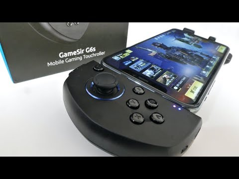 Incredible Game Controller For COD/PUBG/FORTNITE / GameSir G6S Mobile Gaming Touchroller / IOS