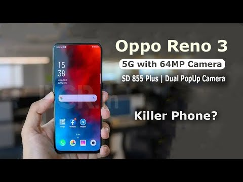 Oppo Reno 3 5G Phone With 90hz Display,Full Review With VOOC Charge 4.0 #30xZoom