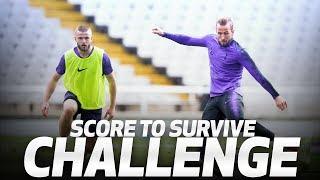 SCORE TO SURVIVE CHALLENGE | Ft. Son, Kane, Eriksen, Lucas, Dier & Aurier!