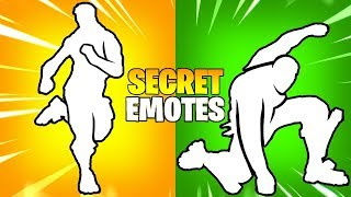 These 10 Secret Fortnite Emotes Are Amazing..!!