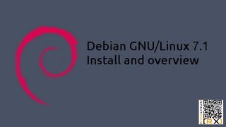 Debian GNU/Linux 7.1 install and overview | Debian solid as a rock [HD]
