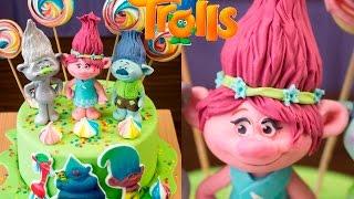 "Торт ""ТРОЛЛИ"". Фигурка Принцессы Розочки / ""Troll"" cake. Princess Figurine Roses - Я - ТОРТодел!"