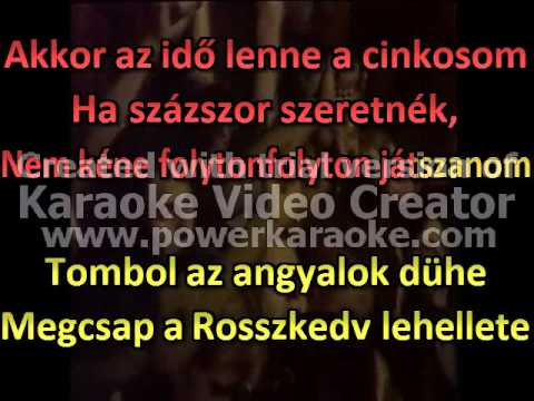 Bonanza Banzai   Rosszkedv karaoke