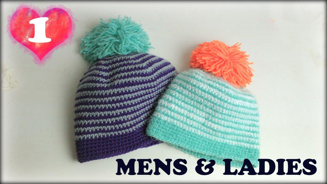 帽子の編み方!簡単楽しい!春夏向け手編み帽子!編み図も!