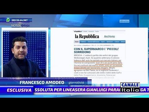Francesco Amodeo 'Il Cartello Finanziario' | Notizie Oggi Lineasera