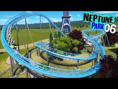 Planet Coaster - Neptune Park (ep. 6) - Junior Coaster for tha Kidz
