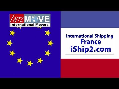 International Move to France shipping company USA to France International Move