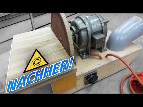 Tellerschleifer ganz einfach aus Restholz bauen!  | .02 | NEUE.WERKSTATT