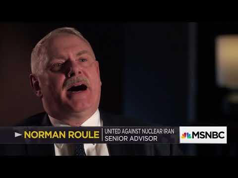 UANI Senior Adviser Norman Roule on MSNBC