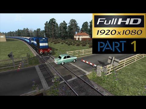 ICF rakes with WDM-3D in Train Simulator 2016 (Bharat Stream Express) (Part 1)