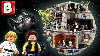 Lego Star Wars Death Star UCS Set 75159 | Unbox Build Time Lapse Review