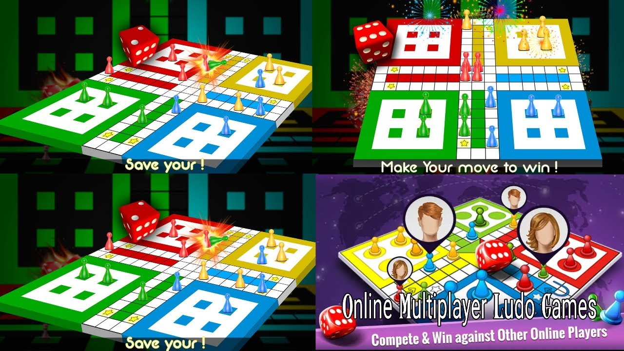 Ludo King Gameplay ♛ (Player Vs Computer) 4 Players Gameplay