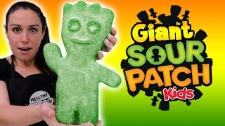 DIY Giant Sour Patch Kid 🤓