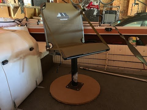 Best Fishing Seat Base Build For My Millenium Marine Seat On My Starcraft Boat