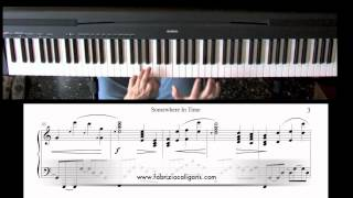Somewhere in Time - John Barry, piano cover