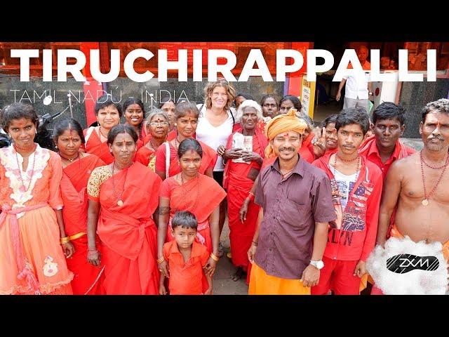 TIRUCHIRAPPALLI - ruta por Tiruchirappalli en TAMIL NADÚ - INDIA - ZXM