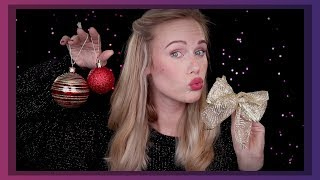 ASMR 🎁 show and tell 🎄 classic christmas ornaments