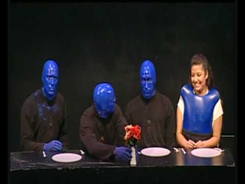 Blue Man Group Feast (HQ)