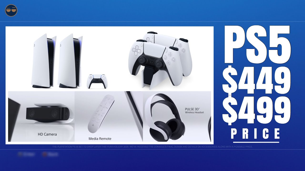 Playstation 5 Ps5 Ps5 Pricing 449 499 Digital Vs Physical 3d Audio Headset Came Youtube