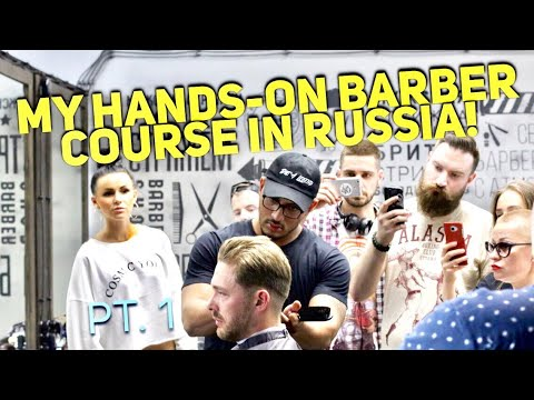 Educating Barbers in Russia! Company employs 700 barbers!